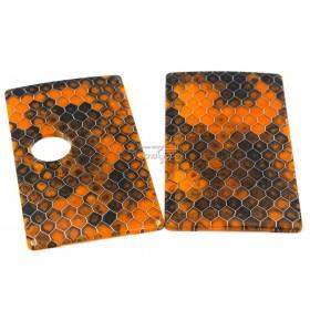 Pannelli in Resina per Billet HoneyComb tonalità Arancio / Nero
