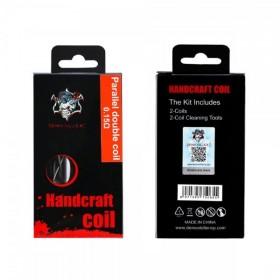 Handcraft coil Parallel double coil 0.15ohm - Demon Killer