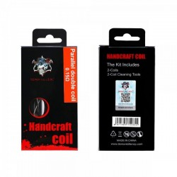 Handcraft coil Parallel double coil 0.15ohm - Demon Killer