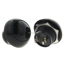 Tasto 12mm con PIN FULL BLACK