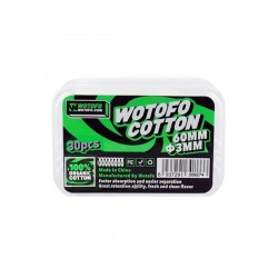 WOTOFO - Organic Cotton 3mm (30pcs)