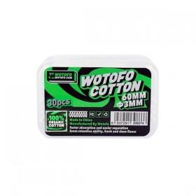 WOTOFO - Organic Cotton 3mm (30pcs)