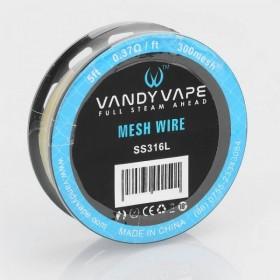 Vandy Vape - Mesh Wire SS316L 200 Mesh 0.9 ohm