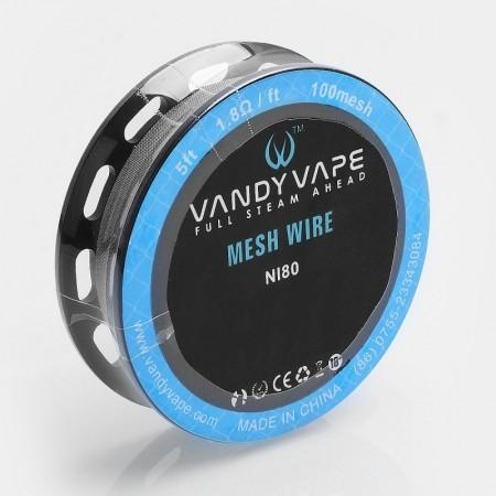 Vandy Vape MESH Wire NI80/100mesh 1,8ohm
