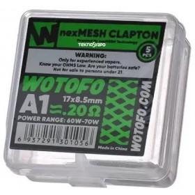 Coils NexMesh Clapton 0.20 Ohm A1 - Wotofo