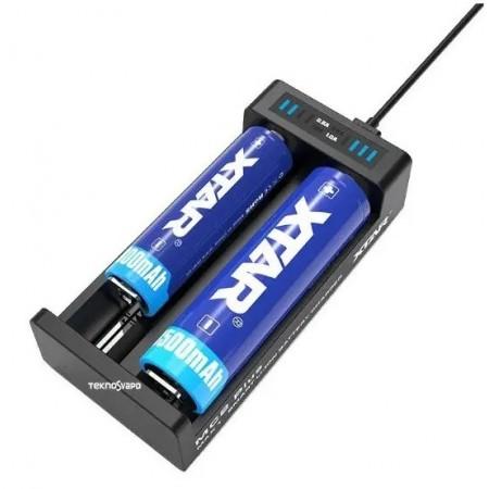 Caricabatterie XTAR MC2 Plus
