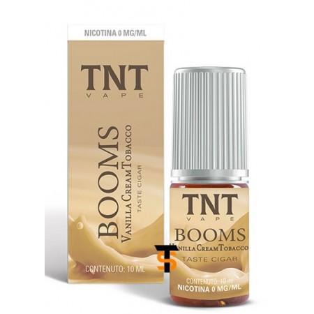 Liquido TNT Booms Vanilla Cream Tobacco 10ml