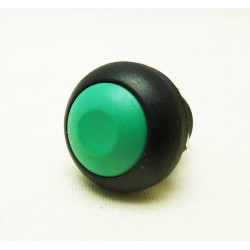 Tasto 12mm con PIN NERO/VERDE