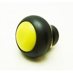 Tasto 12mm con PIN NERO/GIALLO