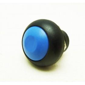 Tasto 12mm con PIN NERO/BLU