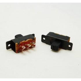 Interruttore a slitta 45 V/DC 0,1 A