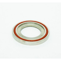 CUP FLAT Stainless 22mm con Oring